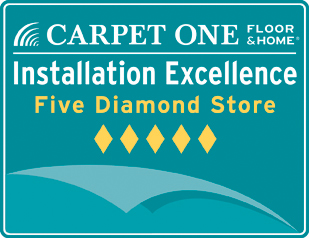 Carpet One Floor&Home Installation Excellence 5 Diamond Store